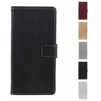 LG K50 ケース 手帳型 レザー シンプル おしゃれ PUレザー スタンド機能 カード収納 LG K50 手帳型レザーケース/カバー スマホケース