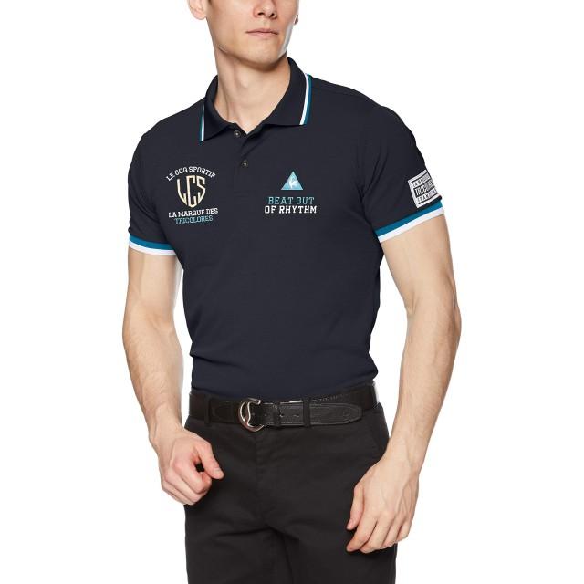 [le coq sportif/GOLF COLLECTION]半袖シャツ QGMNJA08 メンズ BK00(ブラック) 日本 M (日本サイズM相当)