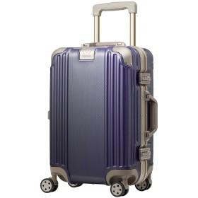 スーツケース キャリーケース キャリーバッグ Sサイズ アイリスパープル ダイヤルロック ダブルキャスター レジェンドウォーカー 5509-48