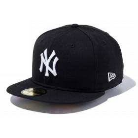 【メーカー取次】 NEW ERA 59FIFTY UNDERVISOR ニューヨーク・ヤンキース ブラック×ホワイト/マルチカラー 11308536 キャップ (ブラック×ホワイト/マルチカラー 表記7)