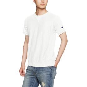 [チャンピオン] リバースウィーブ Tシャツ C3-F301 メンズ ホワイト 日本 M (日本サイズM相当)