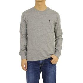 (ポロ ラルフローレン) POLO Ralph Lauren メンズ 霜降 ロングスリーブ長袖 Tシャツ 無地ワンポイント0107198 [並行輸入品]