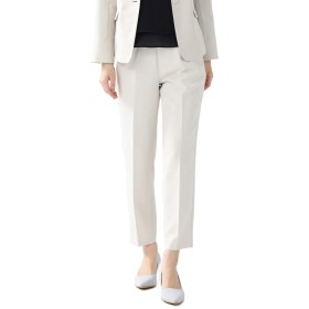 パンツ テーパードパンツ レディース スーツ フォーマル 入学式 卒業式 白 セットアップ セレモニー オフィス Honeys ハニーズ テーパードパンツ 573073982259 ベージュ L