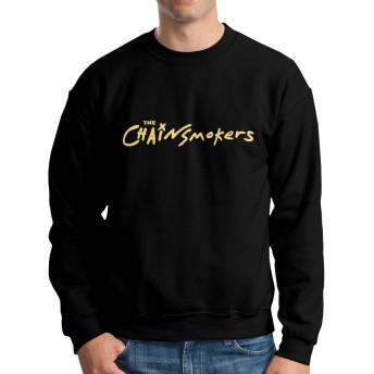 ザ・チェインスモーカーズ Chainsmokers パーカー スウェット メンズ Tシャツ スウェットシャツ スウェット トレーナー パーカー プルオーバー ストリート アメカジ 原宿 かっこいい 人気 個性 カジュアル シンプル S-XXL