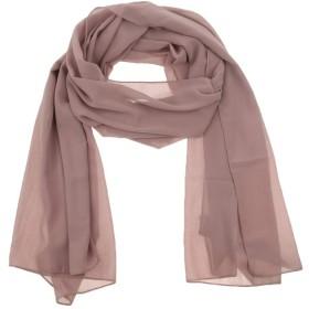 D DOLITY イスラム女性教徒 ターバン スカーフ ヘッド 首 フルカバー 薄い 通気性 全7色   - キャメル