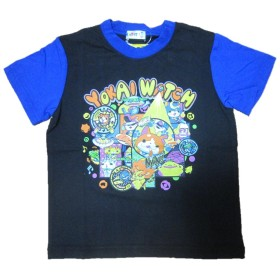 妖怪ウォッチ NEXTPETS 半袖Tシャツ 黒 110cm
