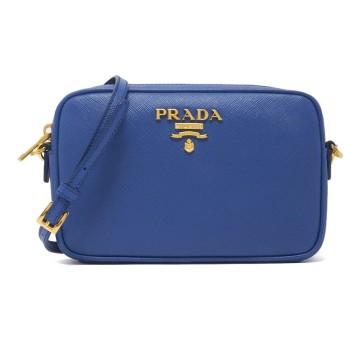 並行輸入品 PRADA プラダ LEATHER SHOULDER BAG 1BH036