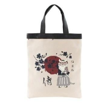侍のてさげBAG キナリ 193316-01