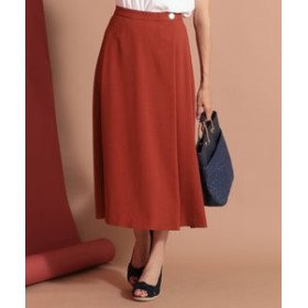 【any SiS:スカート】【洗える】ライトサマーフレア スカート