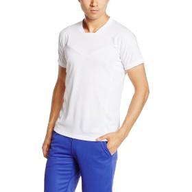 [ミズノ] フィットネス シャツ 32MA6610 メンズ ホワイト 日本 XL-(日本サイズXL相当)