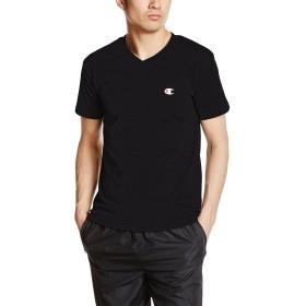 [チャンピオン] VネックTシャツ CM1HH202 メンズ ブラック 日本 L (日本サイズL相当)