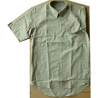 【アウトレット品】 メンズ 半袖シャツ Yシャツ (UG4060) オリーブ S