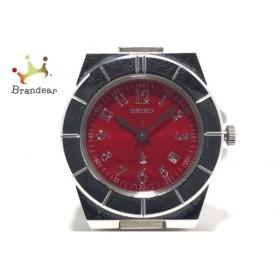 セイコー SEIKO 腕時計 ルキア 7N82-0620 レディース レッド 新着 20190714