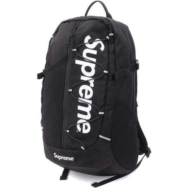Supreme/シュプリーム 210D Cordura Ripstop Nylon 20L Backpack/コーデュラ リップストップ ナイロン バックパック Black/ブラック 2017SS 国内正規品