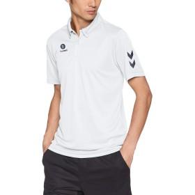 [ヒュンメル] トレーニングウェア ワンポイントドライポロシャツ [メンズ] HAY2085 ホワイト×ネイビー (1070) 日本 O (日本サイズ2L相当)