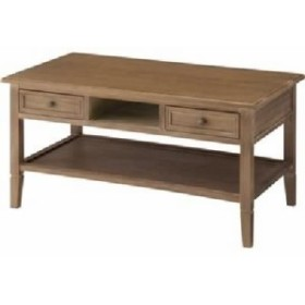 センターテーブル 机 【Aube】オーブ 木製 棚/引き出し整理 収納付き COD-461BR ブラウン【完成品】 茶  送料無料