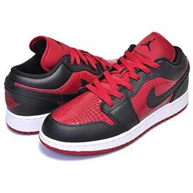[ナイキ] エアジョーダン 1 レディース AIR JORDAN 1 LOW(GS) gym red/black-white スニーカー ウィメンズ ガールズ ローカット BRED AJ 24cm(US6Y) [並行輸入品]
