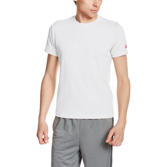 [アシックス] トレーニングウエア 半袖Tシャツ XA6188 [メンズ] ホワイト/レッド SS