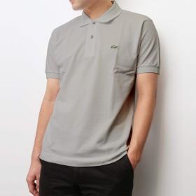 LACOSTE(ラコステ) メンズ ポロシャツ L1212 グレー XS サイズ [並行輸入品]