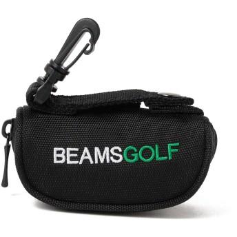 [ビームスゴルフ] ゴルフ ボールケース ブラック One Size