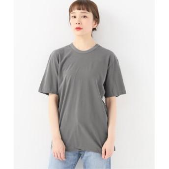 journal standard luxe 【ATON/エイトン】 FRESCA CREW NECK T-SHIRT グレー 2