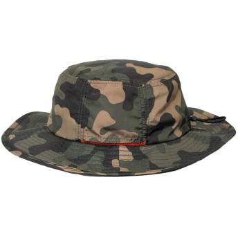 レインハット アドベンチャーハット サファリ 撥水加工 HAT 帽子 メンズ レディース BCH-20156 グリーンカモ