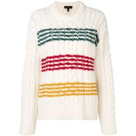 Rag & Bone Mindy ストライプ セーター - ホワイト