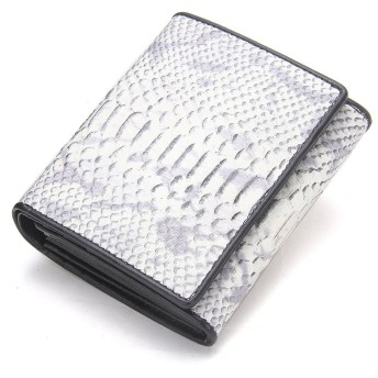 HIRAM新着レディース財布 サーペンタイン彫刻財布 二つ折り短財布(DIY)無料です … シルバー)