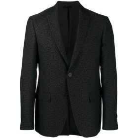 Fendi ジャカード ジャケット - ブラック