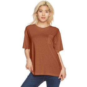 [ウィゴー] Tシャツ デイリークルーネックルーズT レディース Dオレンジ 日本 M (日本サイズM相当)