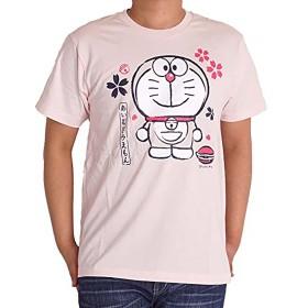 ドラえもん tシャツ 半袖 hbl5359 L ピンク16A