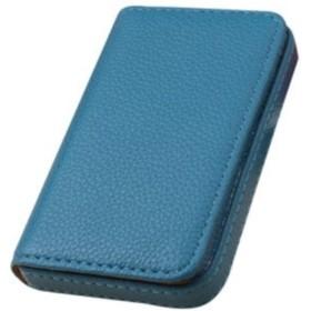 tsunagumon 名刺入れ カードケース HQ PU レザー 革 ステンレス マグネット式 TMCP-9 (ブルー)