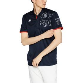 [ルコックスポルティフ] ハンソデポロシャツ 半袖ポロシャツ ネイビー 日本 S (日本サイズS相当)