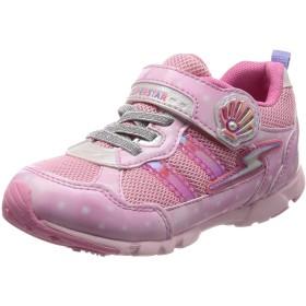 [スーパースター] 運動靴 通学履き 15cm~19cm 0.5cm対応 キッズ SS K895 ピンク 17 cm 2E