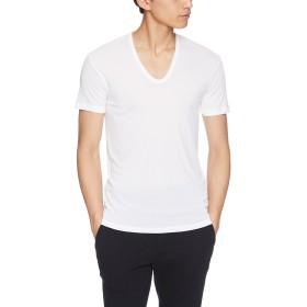 [グンゼ] インナーシャツ 快適工房 肌さらり Uネック KH7116 メンズ ホワイト 日本M (日本サイズM相当)