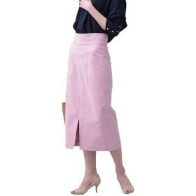 nano・universe CRストレッチIラインスカート