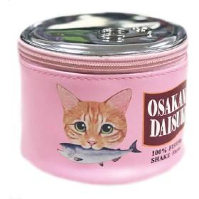 FEANO 化粧ポーチ メイク ポーチ ボックス 収納ケース 仕切り 猫柄 萌え かわいい おしゃれ レディース 女の子 機能的 小物入れ 旅行 出張 プレゼント (ピンク)