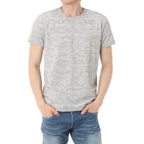 (アズールバイマウジー) AZUL by moussy Tシャツ スラブパイルクルーネック半袖T メンズ 251BST80-506D L トップグレー