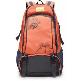 大容量 登山バッグ リュック 多機能 靴収納室付き 防水 軽量 35-40L 旅行 バックパック 徒歩 ハイキング キャンプ 7色