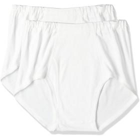 [グンゼ] 天引きブリーフ GreenMark 綿100% GK12316 メンズ ホワイト 日本M (日本サイズM相当)