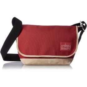 [マンハッタンポーテージ] メッセンジャーバッグ 公式 Suede Fabric Vintage Messenger Bag Red