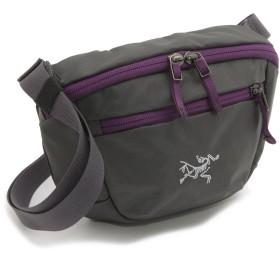 (アークテリクス) Arc'teryx バッグ 17171 ユニセックス ウエストバッグ 鞄 ロゴ ダークグレー [並行輸入品]