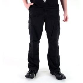 ロスコ 8ポケットパラトゥルーパーカーゴパンツ、ブラックUS-Lサイズ