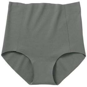 【レディース】 無縫製の切りっぱなし綿混ショーツ(100%シームレス・日本製) - セシール ■カラー:シャドーグレー ■サイズ:L,M,LL,S