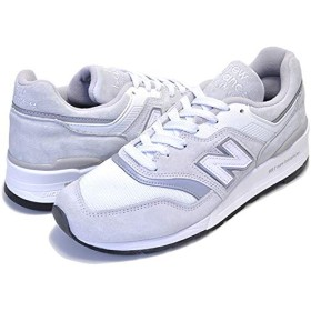 [ニューバランス] 997 M997LBG MADE IN U.S.A. NB 997 Dワイズ White Silver 27.5cm(US9h) [並行輸入品]