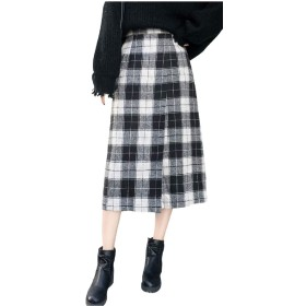 R.O.N shop ロンショップ ラップデザイン チェック柄 スカート