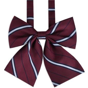 homewineasy 制服リボン スクールリボン JK 高校生 女子高生 可愛い コスチューム用小物 サイズ調整可能