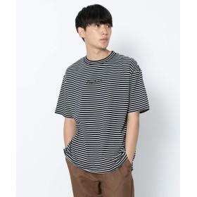 [センスオブプレイス] tシャツ ロゴボーダーTシャツ(半袖) メンズ WHITE M