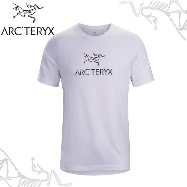 【ARC'TERYX 始祖鳥 男 Arc'word T-shirt 休閒Tee《白》】24013/短袖T恤/運動衫/透氣