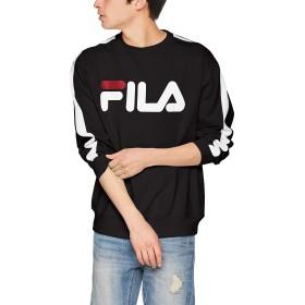 [ウィゴー] 別注FILA ラインプルオーバー M ブラック